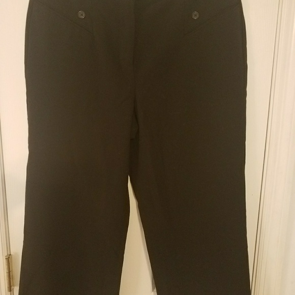 3075fe174 new directions Pants | Womens Black Dressy Crop Trousers | Poshmark